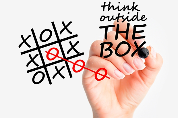 Naučte sa myslieť OUT OF THE BOX