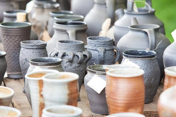 reklama, hrnciar, pottery