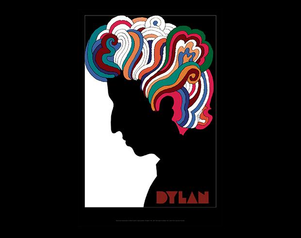 poster of bob dylan