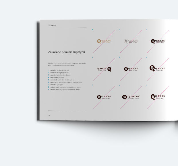 quercus - dizajn manual