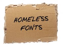 HomelessFONTS - Dobrý nápad s veľkým posolstvom