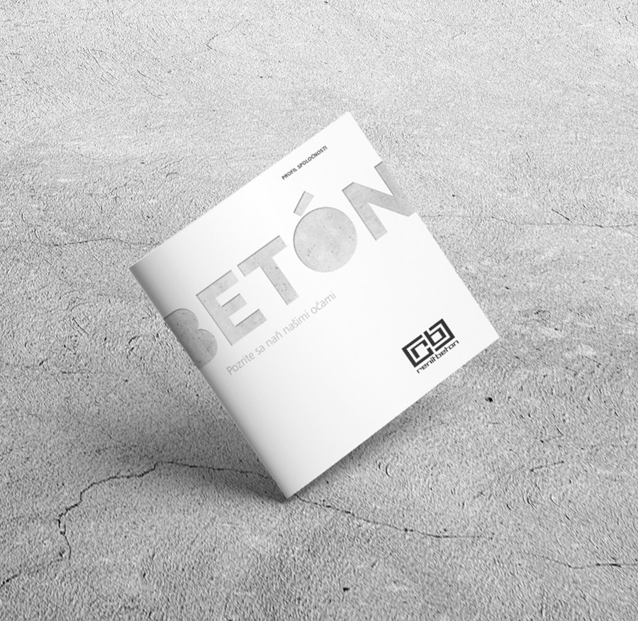 Renit beton - Brožúra