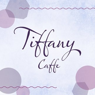 Tiffany caffe - nápojový lístok