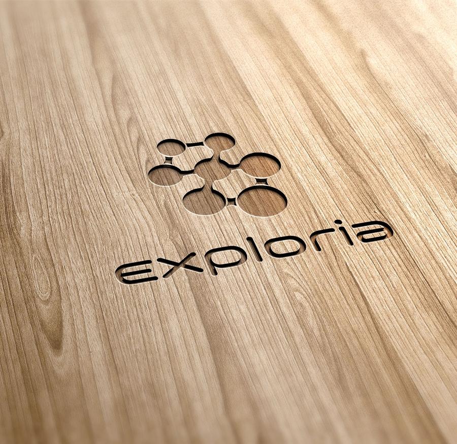 Exploria - firemná identita