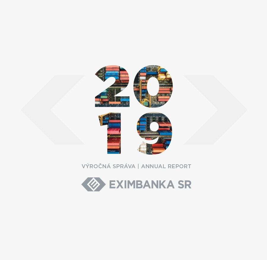 Eximbanka - grafický návrh výročnej správy